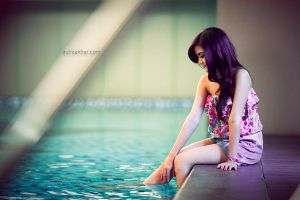 swimming pool by anisarahma