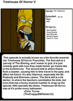 1001 Animations: Treehouse Of Horror V by TheCrappyMSPainter23