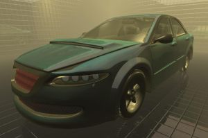 Blender Car 1 by DennisH2010
