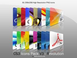 CS3 Icons Pack Revolution by Pedro-de-la-Luna