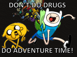 WINNERS DON'T DO DRUGS except for captain america by bronybyexception