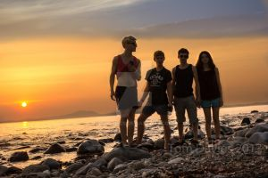 Me and my friends on Shell Island by TomsPics