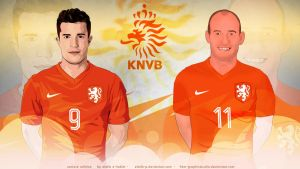 Netherlands collab with hkm-graphicstudio by elatik-p