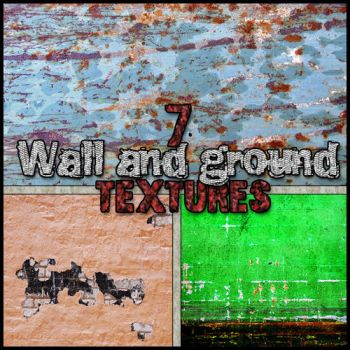 Wall and Ground Textures Pack by paumyself