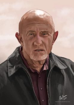 Mike Ehrmantraut by OrjanHamre