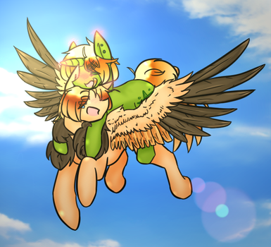 Flying For The First Time by Ask-Pony-USUK