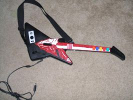 Guitar Hero front by BlackStarDesigns