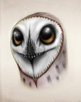 Anurognathus - owl  All Yesterdays by MALvit