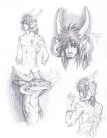 Mizer Sketches by yamilink