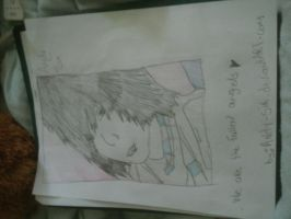 my drawing of andy six by andy-six