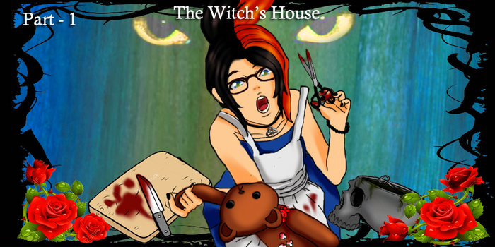 The Witch's House Fan Art Part1 by Blutengle