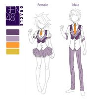 GEN48:: Understudy Uniform Reference by burnsgraves