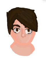 Dan Howell (mouthless cause I cant draw them XD) by NorthernAndromeda