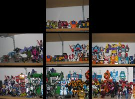 My Transformers Collection by EmSeeSquared