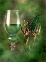 The Green Fairy by deskridge