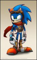 Sonic Boom Redesign by RatchetMario