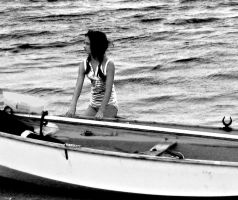 Girl at Boat by addr010