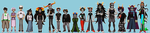 Homestuck crew by emlan