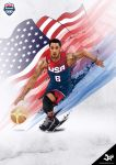 Derrick Rose Team USA by tmaclabi