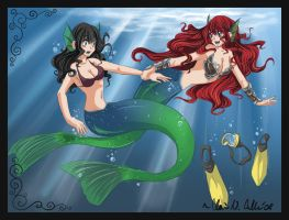 .:Mermaid Commission:.:3:. by Busoni