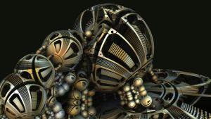 Sphere Cluster by HalTenny