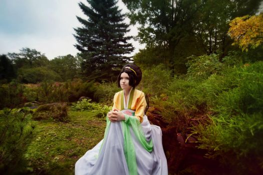 Toph - Avatar The Last Airbender. Alone by TophWei