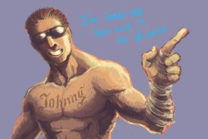 Mortal Kombat: Johnny Cage by rook-over-here