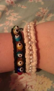 Bracelets by creneh