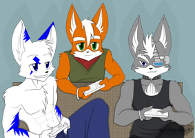 Wii time by BlackWingedHeart87
