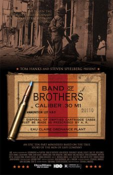 Band Of Brothers Movie Poster by nitsuj-ex