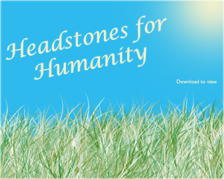 Headstones for Humanity by vix0r