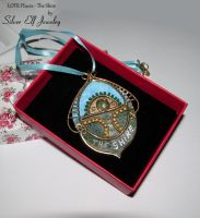 LOTR Places - The Shire pendant by Lyriel-MoonShadow