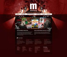 M Advertising Home Page by scottrichardson