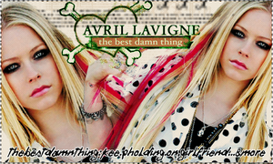 Avril DAmn Thing by vams