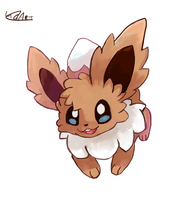 Eevee by LizardonEievui13