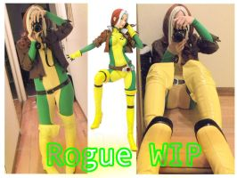WIP: Rogue by SugarBunnyCosplay