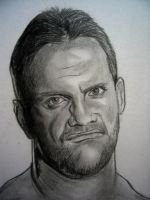 WWE Chris Benoit by VinceArt