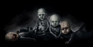 Hellraiser Babies by Chosy