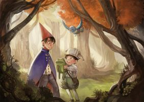 Over the Garden Wall by zerorinn