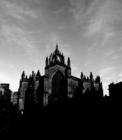 St. Giles in the shaddows by CoasterLass