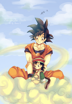 DBZ: A Trip To The Clouds by BiancaEmoRapinRocker