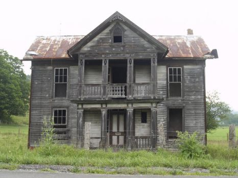 Old house WV2 by Irie-Stock