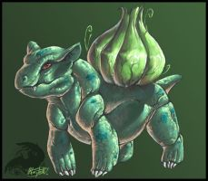 Bulbasaur by ReneCampbellArt