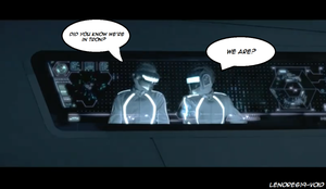 Daft Punk-We're in Tron by Lenore619-Void