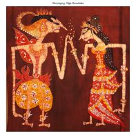 Wayang Engagement by Bombeletta