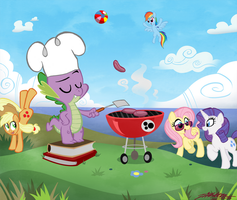 Cookout by WillDrawForFood1