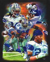 Marion Barber Dallas Cowboy by choffman36