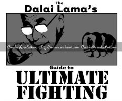 Dalai Lama's Guide to Ultimate Fighting Logo by AlmightyOracle
