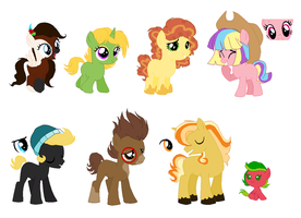 Fillies and Colts 2 ADOPTABLES by FallenFireFox