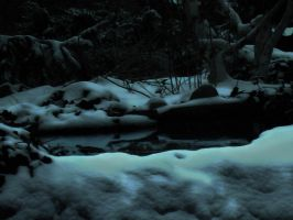 Pool Atop The Frozen Fall by Pentacle5